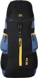 J R Bags Ranger 50 Liters Top Load Rucksack - 50 L(Blue)