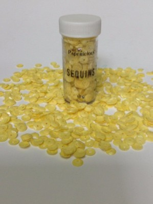 craftsneed YELLOW Sequins(10 g)