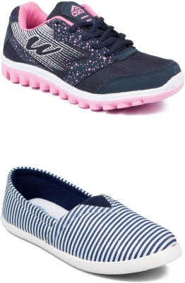 ASIAN Casuals(Navy, Pink)