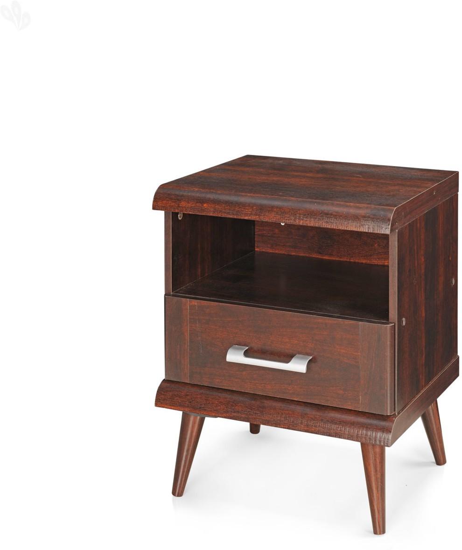 View Berlynoak Kiwi Engineered Wood Bedside Table(Finish Color - Walnut) Furniture (Berlynoak)