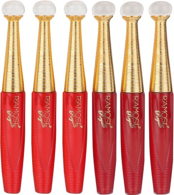 Ramble Premium Sindoor With Sparkles (Pack of 6) in Wholesale Price Sindoor(Red,Maroon)