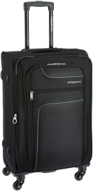 Pronto PR0030258-BK|PRONTO NEW YORKER 4 W Spinner 58 BLACK Expandable Cabin Luggage - 230 inch(Black)