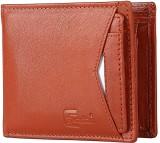 Cuzdan Men Tan Genuine Leather Wallet (7...