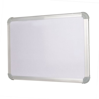 Action World Non Magnetic Wood 60x45 CM. Whiteboards and Duster Combos(Set of 1, White)