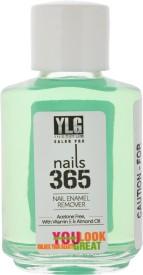 YLG Nails365 Nail Enamel Remover, 30ml(30 ml)