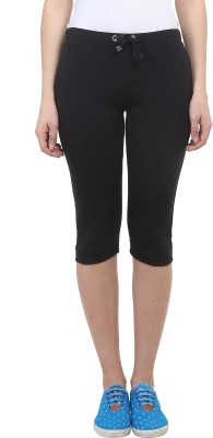 Vimal Solid Women's Black Track Pants at flipkart