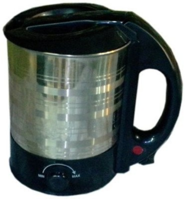 Bajaj Vacco EK-04 Electric Kettle(1.7 L, Silver, Black)
