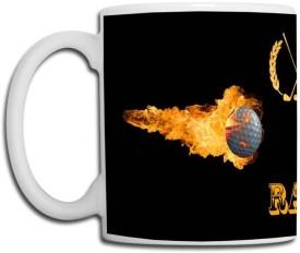 Muggies Magic Rao Name Design Ceramic Mug(325 ml)