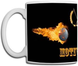 Muggies Magic Motiwala Name Design Ceramic Mug(325 ml)