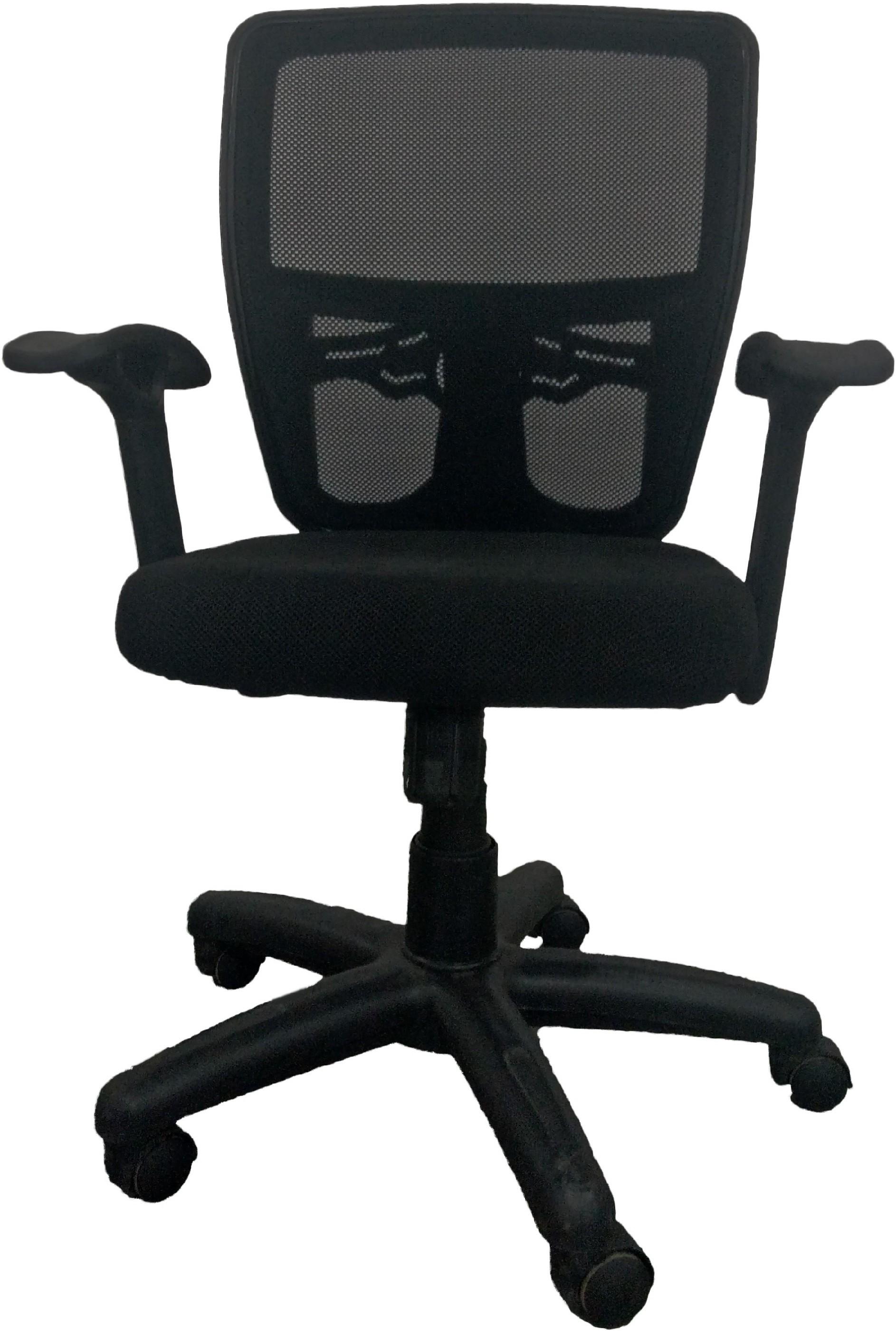 View Sogno Fabric Office Chair(Black) Furniture (Sogno)