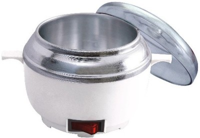 Blushia Oil and Wax Heater(White, Silver)