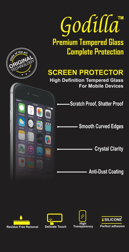 GODILLA Tempered Glass Guard for Coolpad Note 3S