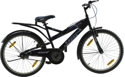 Kross K 30 24 Inches Single Speed Black 402214 Mountain Cycle(Black)