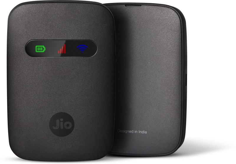 Jio Fi 3 Wireless Router Data Card(Black)