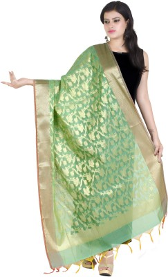 Chandrakala Chanderi Self Design Women's Dupatta at flipkart