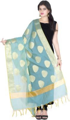 Chandrakala Chanderi Self Design Women's Dupatta at flipkart