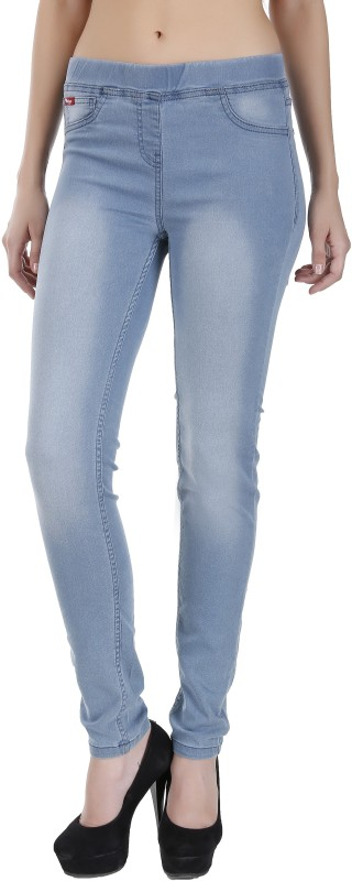 Addyvero Women's Light Blue Jeggings