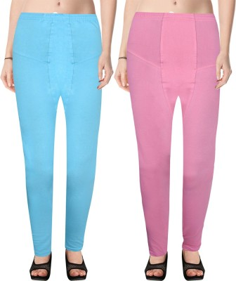 NGT Women's Multicolor Leggings(Pack of 2) at flipkart