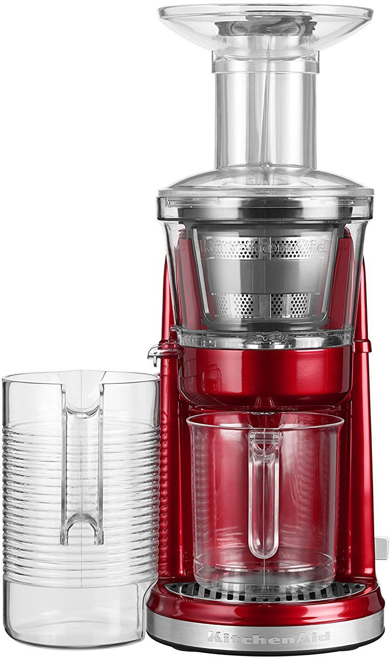 Kitchen Aid 5KVJ0111BCA 250 W Juicer(Candy Apple, 2 Jars)