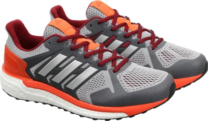 Adidas SUPERNOVA ST M Running Shoes(Grey)