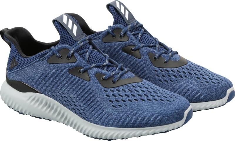 Adidas ALPHABOUNCE EM M Running Shoes(Blue)