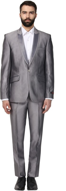 Raymond Single Breasted Solid Men's Suit