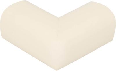 Safe-O-Kid High Quality,High Density, L-Shaped Large (7*7*3.2 cm) NBR Corner Cushions-Pack of 16(Cream)