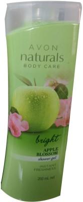 Avon Naturals Apple Blossom shower gel(200 ml, Pack of 1)