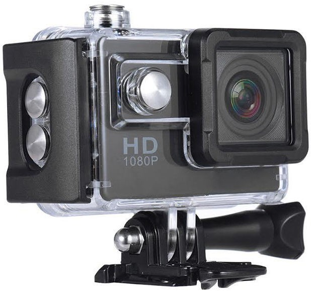 View Digiboom Pro Action Camera for Biking, Sports and Adventure Activities NA Sports & Action Camera(Black) Camera Price Online(Digiboom)