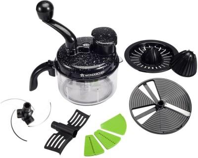 Wonderchef Turbo Chopper & Citrus Juicer Chopper(Black) Image
