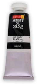 Camlin Oil Colors Tube(Set of 1, IVORY BLACK)