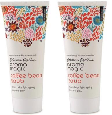 Aroma Magic Coffee Bean Face Scrub Pack Of 2 Scrub(200 ml)