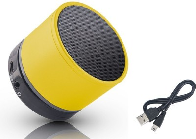 Jiyanshi Vivo Portable Bluetooth Mobile/Tablet Speaker(Yellow, Stereo Channel)