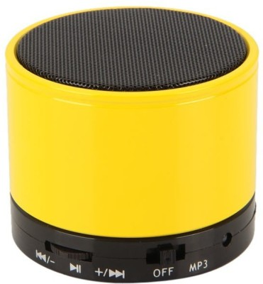 Jiyanshi S10 Portable Bluetooth Mobile/Tablet Speaker(Yellow, 2.1 Channel)