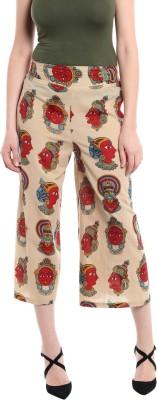 Rigoglioso Regular Fit Womens Beige Trousers