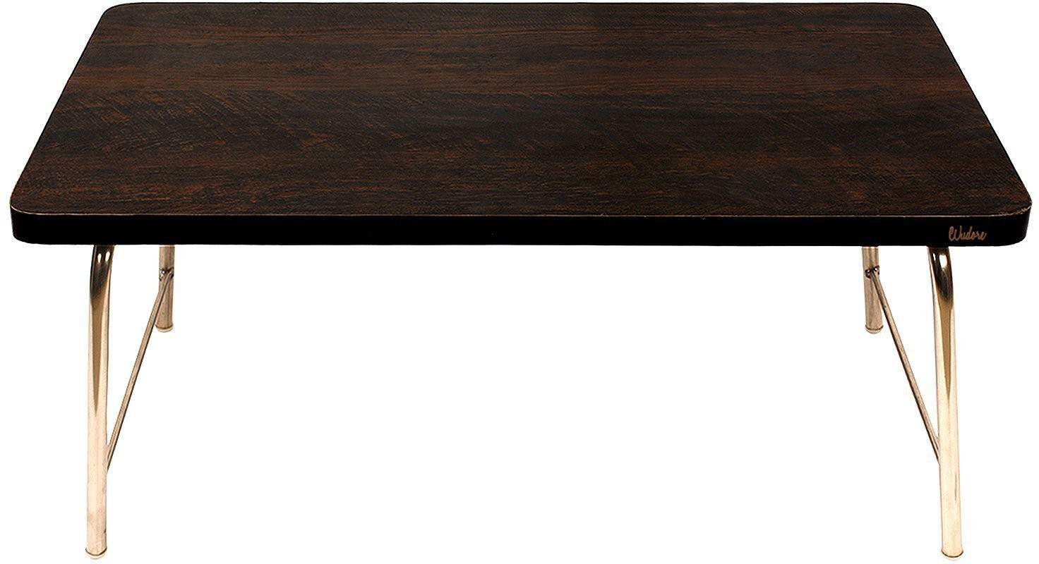 View Wudore Solid Wood Portable Laptop Table(Finish Color - Black) Furniture (Wudore)