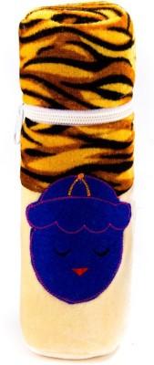KIDZVILLA Baby Bottle Cover(Brown)