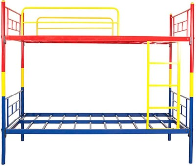 HomeTown Metal Bunk Bed(Finish Color - Red, Yellow and Blue)