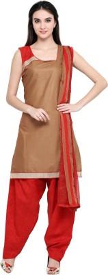 Saara Cotton Printed Salwar Suit Dupatta Material(Un-stitched) at flipkart