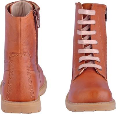 Beanz Boys Slip on Casual Boots(Purple)