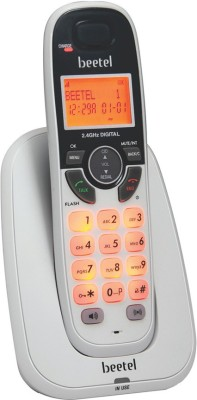 beetel X70 Cordless Landline Phone(White)