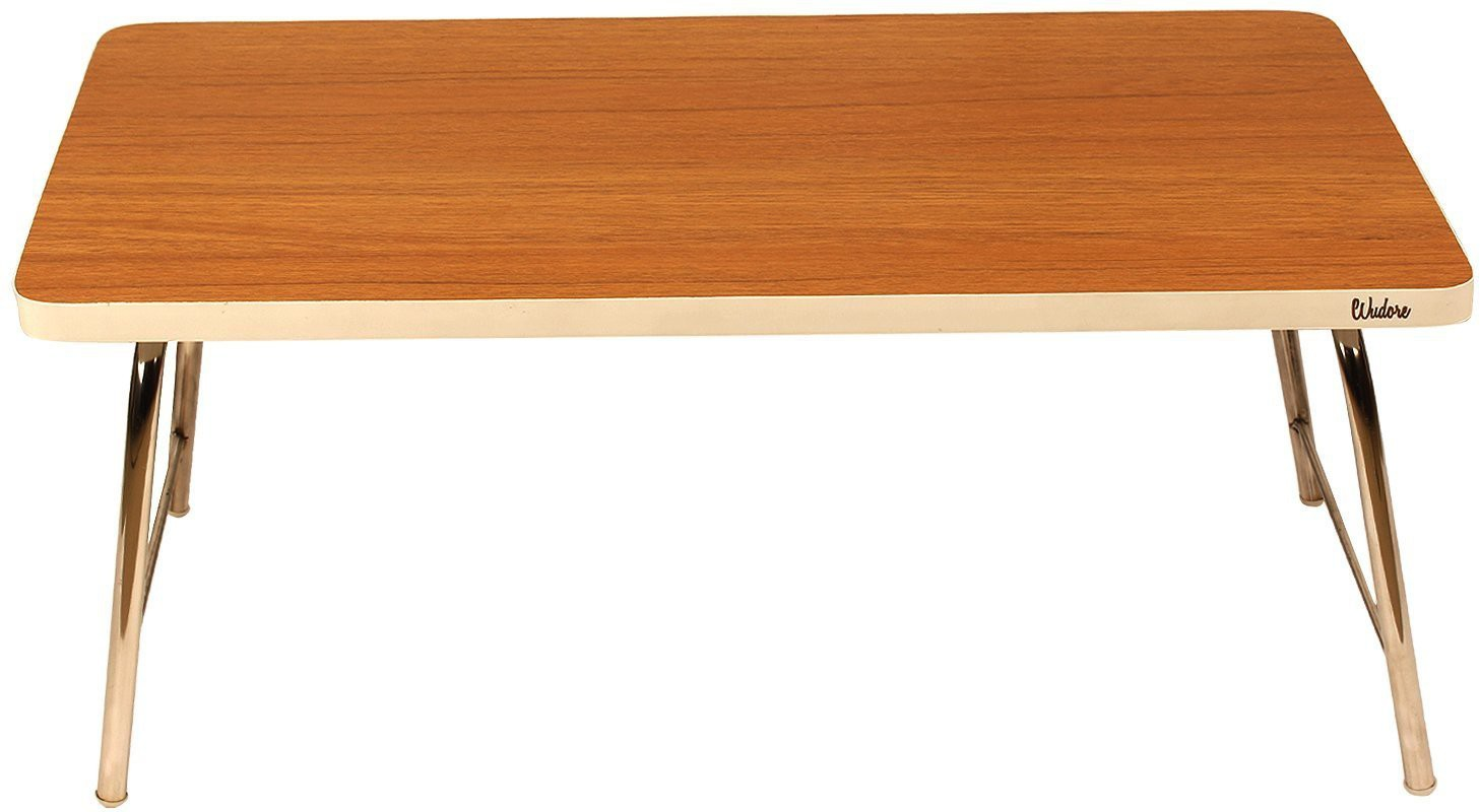 View Wudore Solid Wood Portable Laptop Table(Finish Color - Brown) Furniture (Wudore)
