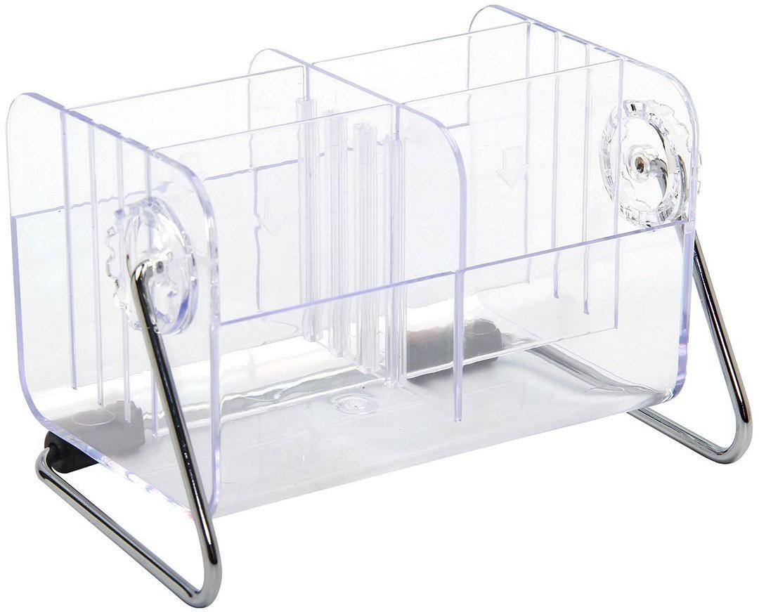 View Shrih Multifunctional Remote Holder Stand Plastic Wall Shelf(Number of Shelves - 4, Clear) Furniture (Shrih)