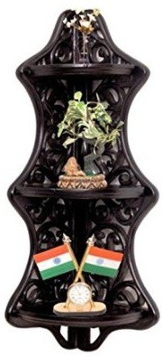 View Desi Karigar Wooden Wall Shelf(Number of Shelves - 1) Furniture (Desi Karigar)
