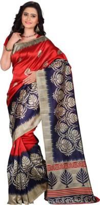 FastColors Printed Mysore Art Silk Saree(Multicolor) at flipkart