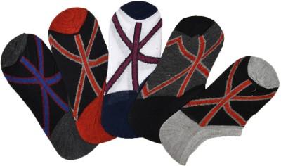 Welwear Mens Footie Socks(Pack of 5)