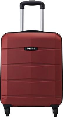 Safari REGLOSS ANTISCRATCH 4W 55 RED Cabin Luggage - 21.65 inch(Red)