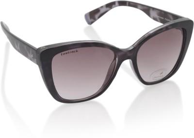 Fastrack P368PR3F Wayfarer Sunglasses(Violet)
