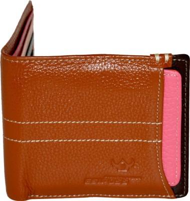 DHide Designs Boys Multicolor Genuine Leather Wallet(8 Card Slots)