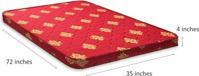 COIRFIT 3 Fold 4 inch Single Bonded Foam Mattress(Standard Foam)